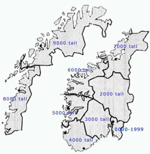 kart postnummer norge HAGEN kart postnummer norge